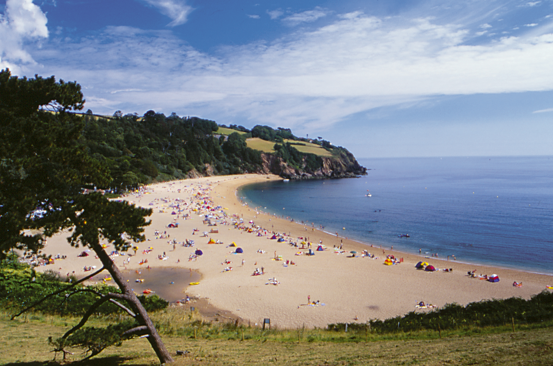 Blackpool Sands, Devon Beach